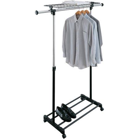 laundry rack walmart rolling adjustable garment rack walmart