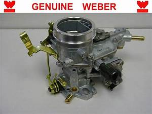 34 Ich New Genuine Weber Carb Carburetor  Only  With