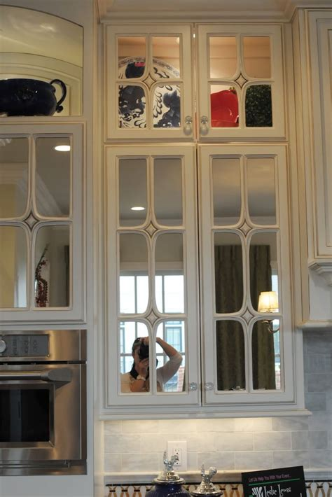 glass for kitchen cabinets doors place the mirrored cabinet doors in your kitchen 6823