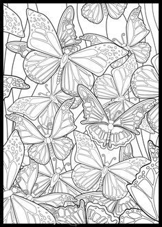 All sizes | butterfly | Flickr - Photo Sharing! | Butterfly coloring page, Adult coloring pages