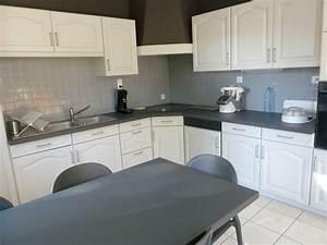renover une cuisine comment repeindre une cuisine en With best brand of paint for kitchen cabinets with lustre papier
