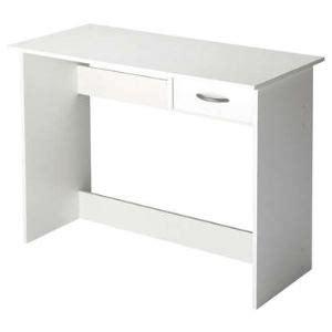 bureau simple blanc bureau alpin 1 tiroir comparer avec touslesprix com