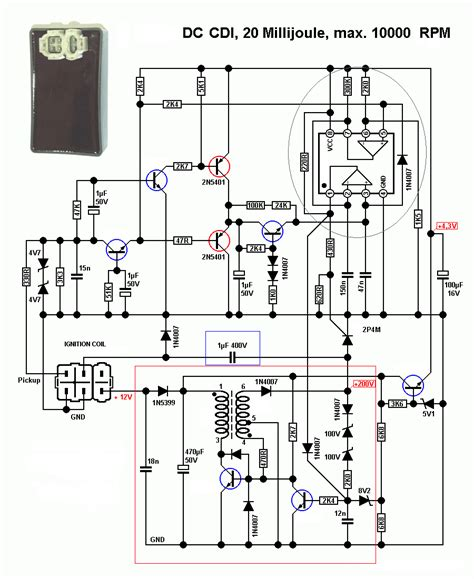4 Pin Cdi Ignition Wiring Diagram by Cdi Building Blocks Techy At Day At Noon And A