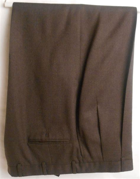austin reed mens super  wool brown size