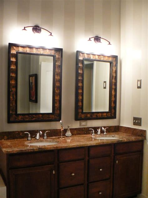 collection  rustic oak framed mirrors mirror ideas
