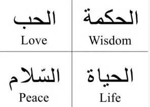Arabic Symbol For Strength galleryhip com - The Hippest