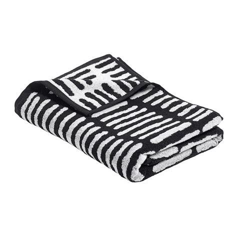black and white towels bathroom hay he towel black bath times uk 163 29 00 2275