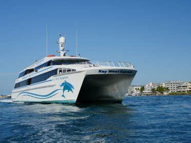 Speed Boat To Key West by Key West Express Catamaran Ferry