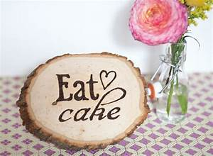 diy wood burning party signage the sweetest occasion With wood burning letters michaels