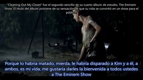 Eminem Cleanin Out My Closet Free Mp3 by Cleanin Out My Closet Eminem Subtitulada En Espa 241 Ol