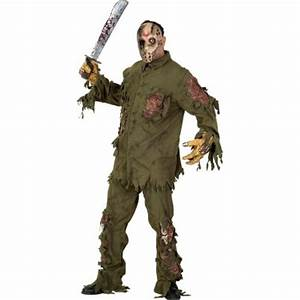 Super Deluxe Jason Friday 13th Adults Costume