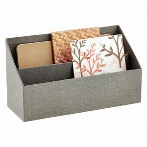 grey bigso marten letter sorter the container store With desktop letter sorter