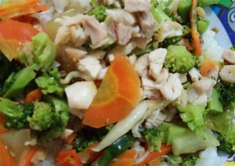 35 resep sambal medan ala rumahan. Resep Cah brokoli+wortel+ayam+teri medan - simple oleh ...