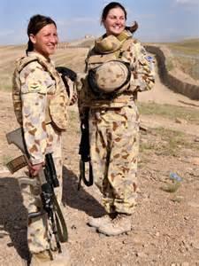 Australian Military Women Soldiers