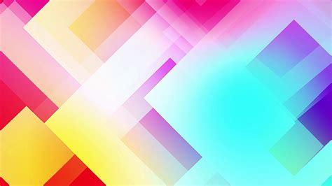 Shapes Background Motion Of Colourful Shapes Background Glassy