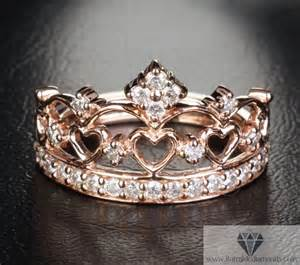 crown engagement rings encrusted gold crown ring iturraldediamonds