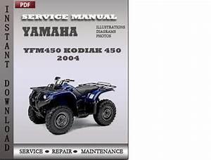Yamaha Yfm450 Kodiak 450 2004 Factory Service Repair