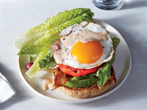 For A Fast Dinner Make Fried Egg Bacon And Avocado
