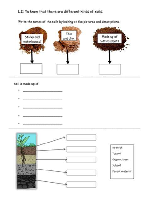 soils worksheet by rachdf teaching resources