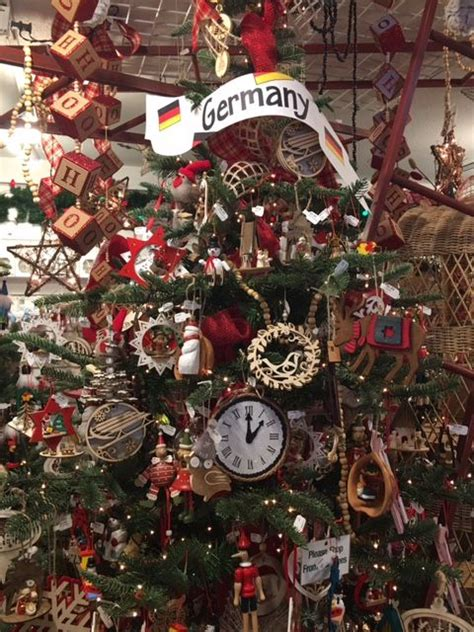 traditional german christmas ornaments christmas trees