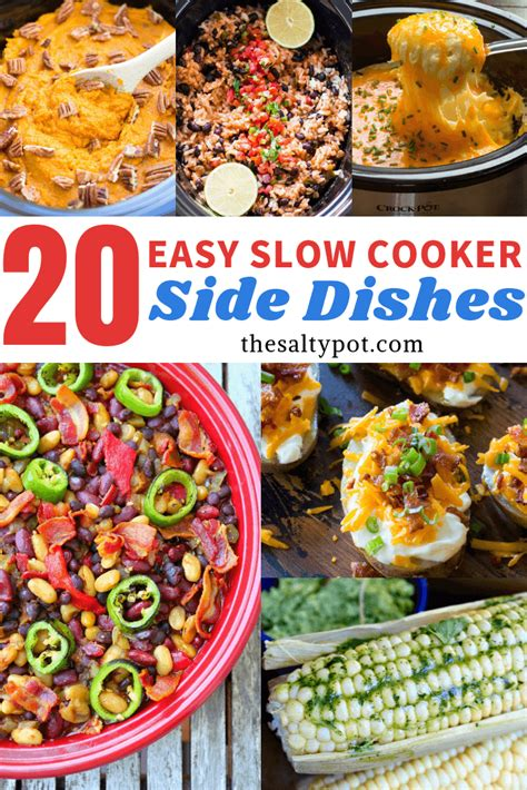 easy crock pot side dishes  salty pot
