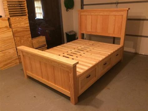 Ana White  Farmhouse Storage Bed With Drawers  Twin And