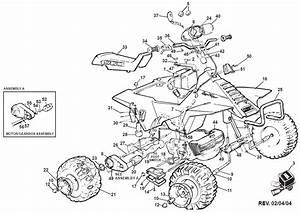 Power Wheels Suzuki Quad Parts