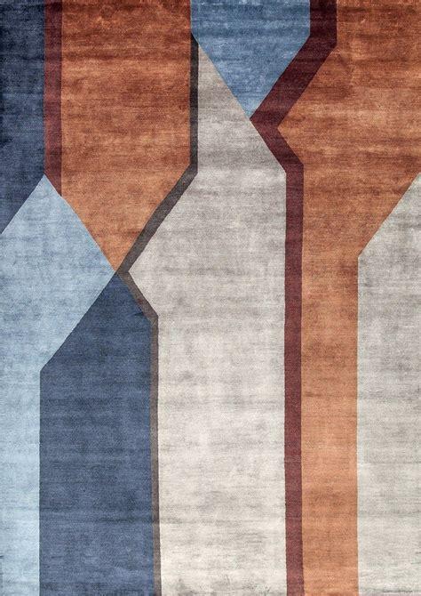 tappeto in bambu tappeto fatto a mano in fibra di bamb 249 composizione four