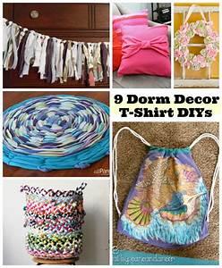 9 diy dorm room decor ideas shirts blog for Simple room decoration ideas for t