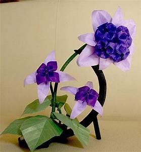 Bouquet de flores de Origami :: Aplicaciones de los bouquets de flores de Origami :: Técnica de