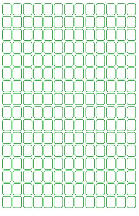 seed bead graph paper template  graph paper printable