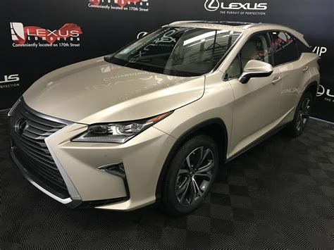 New 2018 Lexus Rx 350 4 Door Sport Utility In Edmonton, Ab