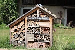 Fabriquer Un Hotel A Insecte : h tel insectes l 39 actu de l 39 universit de franche comt ~ Melissatoandfro.com Idées de Décoration