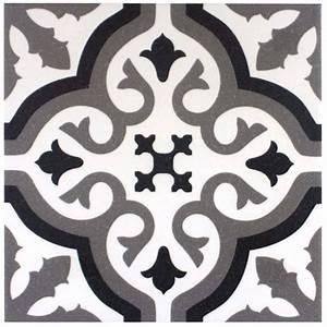 Vinyl Sol Carreaux De Ciment : carrelage r tro d 39 aspect carreaux de ciment fl0115002 ~ Premium-room.com Idées de Décoration