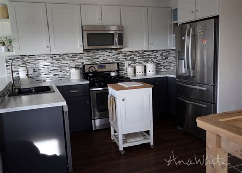 pictures of small kitchen islands white how to small kitchen island prep cart with