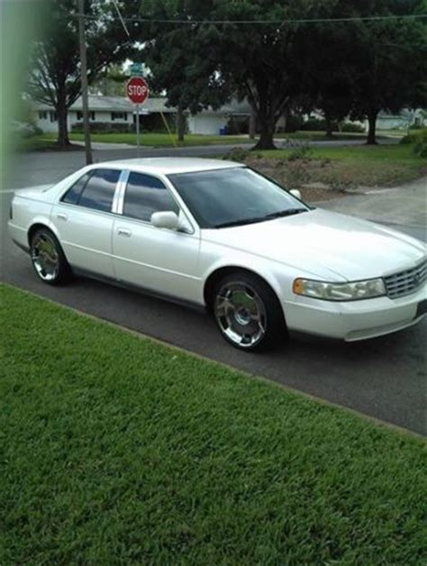 1999 Cadillac Seville Sls by Buy Used 1999 Cadillac Seville Sls Pearl W Blue Leather