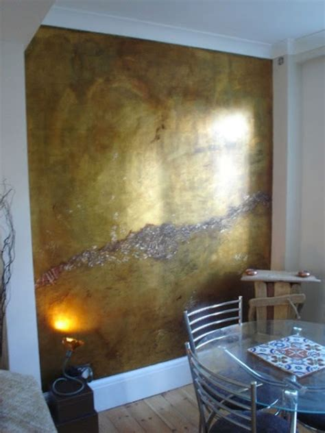 Wand Gold Streichen by Eye For Design Decorating With Metallic Gold