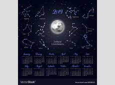 Printable 2019 Full Moon and New Calendar When is the