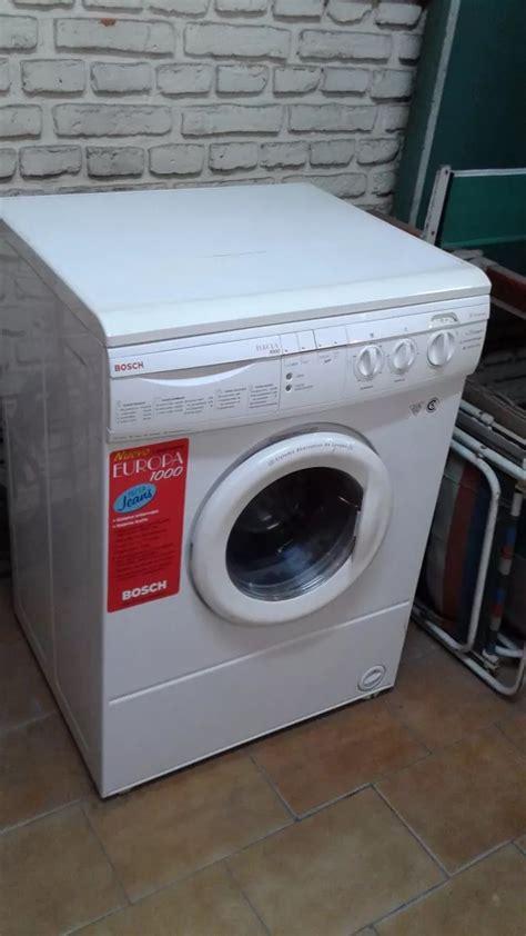 solucionado como desmontar una lavadora bosch europa 1000 yoreparo