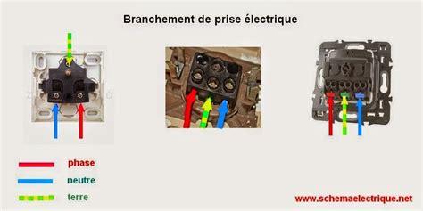 norme prise electrique cuisine schema electrique branchement cablage