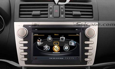 how to install 2009 2010 2011 mazda 6 aftermarket gps navigation system car stereo wiki