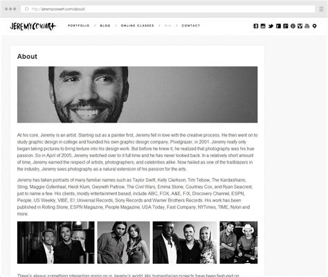 complete guide  writing  photographer  page