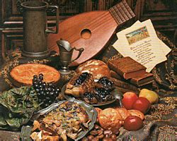 diner buffet au moyen age cuisine francaise