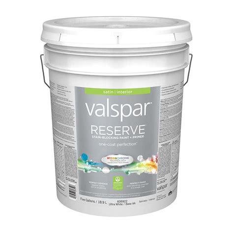 shop valspar reserve satin interior paint and primer
