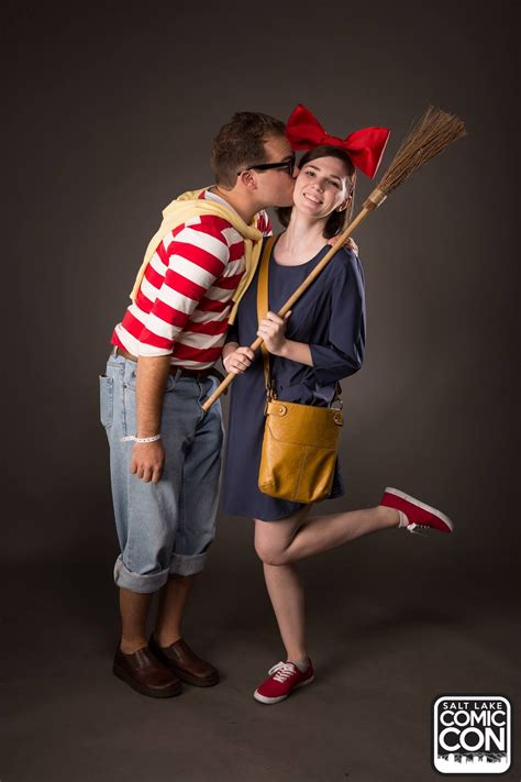 Tombo And Kiki From Kikis Delivery Service Cosplayers At