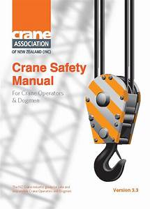 Crane Safety Manual Ver 4 0  U2013 Crane Training Nz Shop