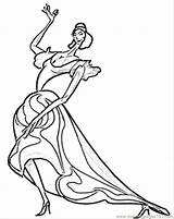 Coloring Pages Flamenco Spain Spanish Dancer Printable Passionate Pablo Picasso Flag Template Coloringpages101 Countries испанский кружева веера танцоры ручные фламенко sketch template