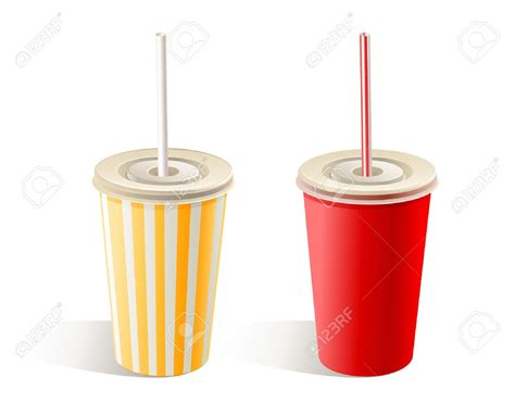 cuisine cup cup with straw clipart 54