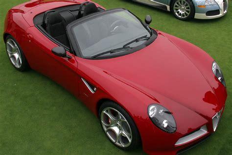Alfa Romeo 8C Spider Concept - 2005 Pebble Beach Concours ...