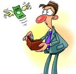 Money Loss Clipart